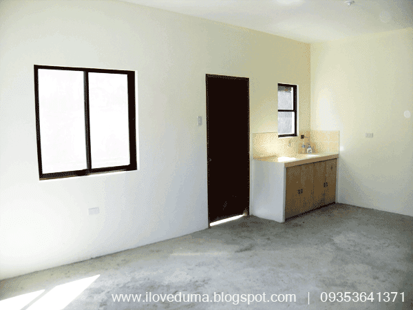 The view of the kitchen which is 80 percent complete of the Dumaguete City house for sale - Del Carmen under construction image