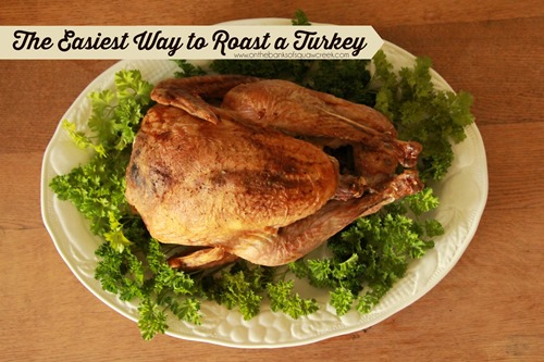 roast a turkey from frozen