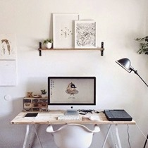 Minimalist Office  Plaid Is My Favourite Colour