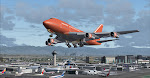 Braniff 747SP launches from LAX starting her journey to Seoul Korea
