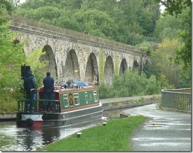 9 chirk aqueduct in the rain