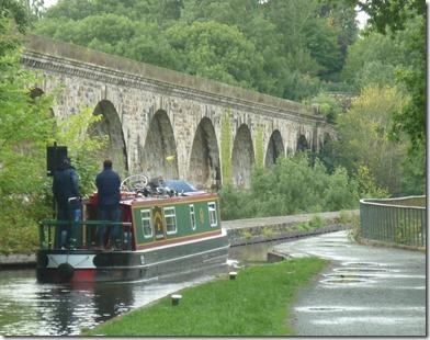 9 chirk aqueduct in the rain