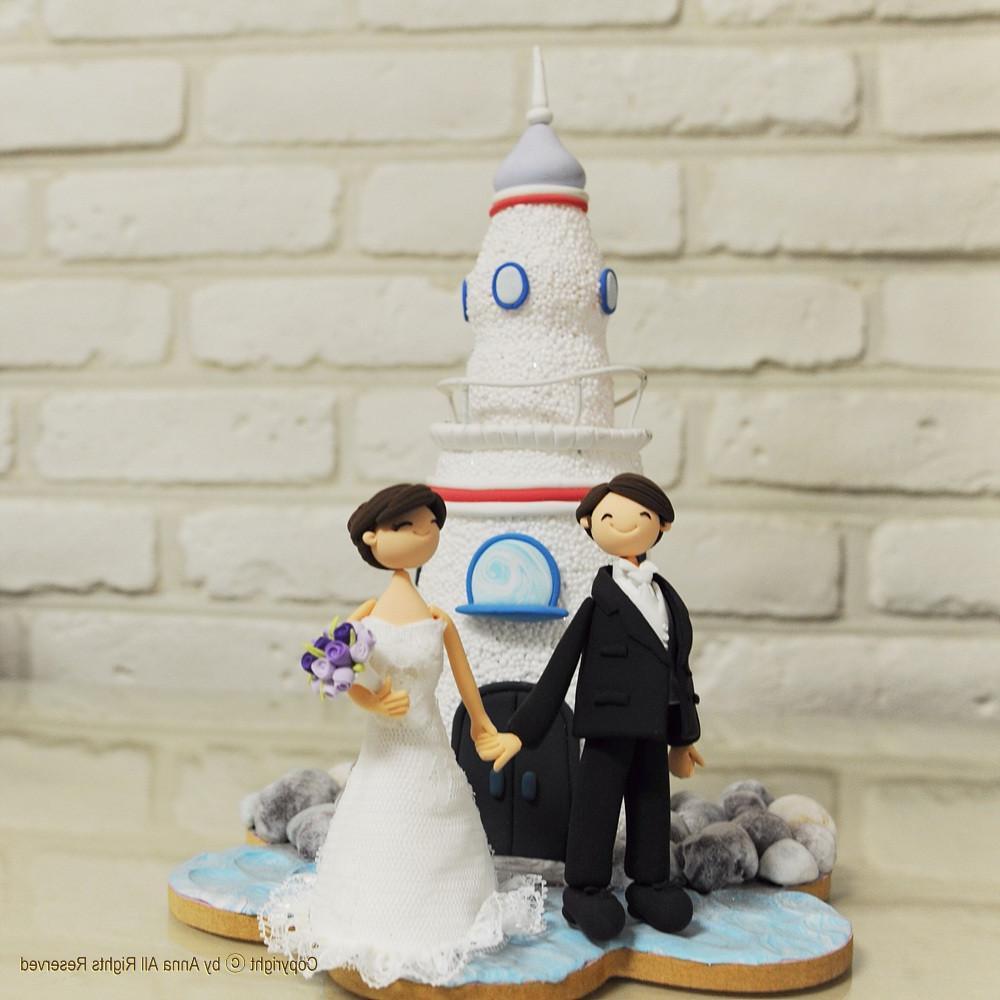 Nataliya\'s blog: Lighthouse wedding cake topper