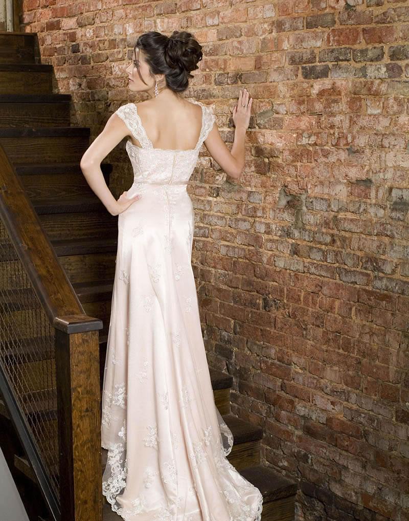 Emerald wedding gown 8006