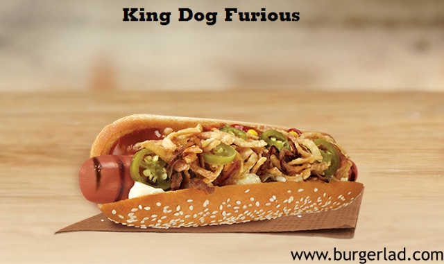 Burger King Hot Dog UK