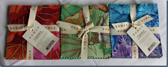 Kaffee Fassett Glorious charm packs