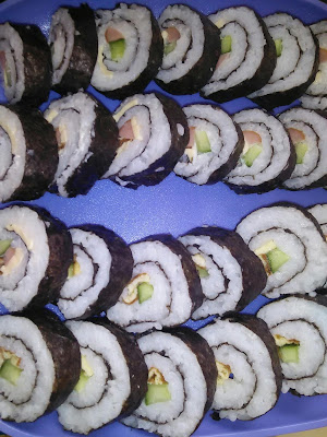 resepi sushi homemade