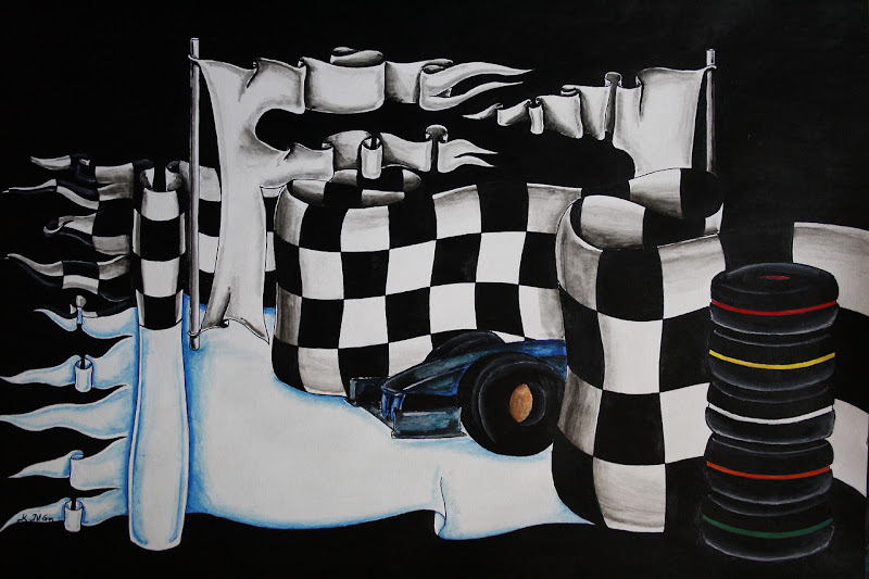 логотип Формулы-1 от Kelly N. Gin