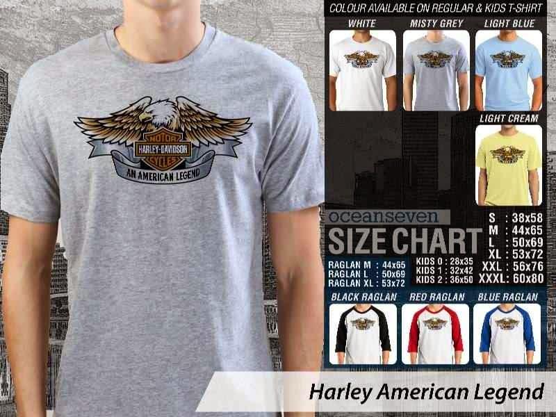 KAOS Harley Davidson 2 Logo Motor distro ocean seven