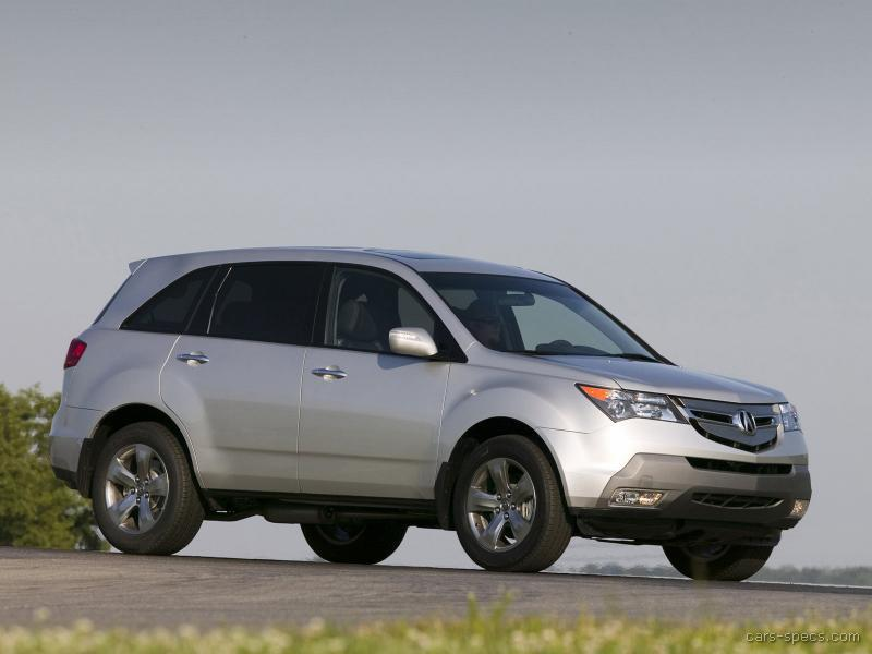 2009 acura mdx suv specifications pictures prices. Black Bedroom Furniture Sets. Home Design Ideas