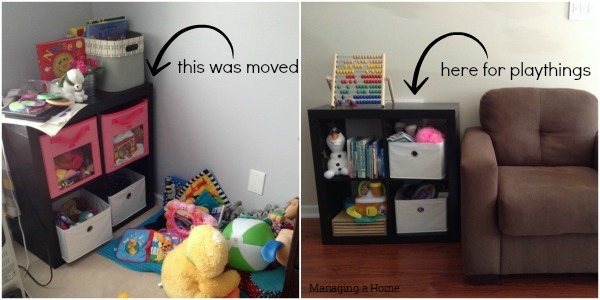 Expedit was moved to living room