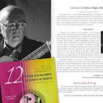 """Conferencia: """"La Guitarra: Magia y Misterio"""". A cargo de Juan Grecos... unas reflexiones sobre su Magia y su Misterio pueden despertar un mayor reconocimiento de este maravilloso instrumento."""