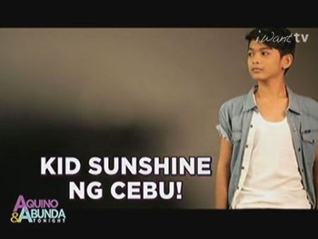 Ryan James Bacalla - Kid Sunshine ng Cebu
