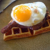 Duck and Waffle breakfast