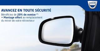 Dacia Algérie : Après Renault, promo sur le rétroviseur chez Dacia