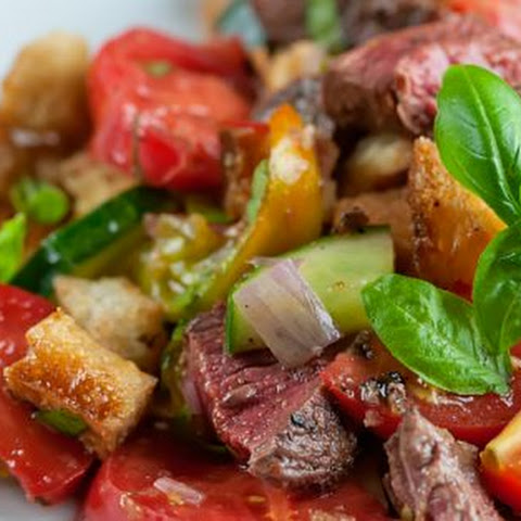 Steak Panzanella Salad