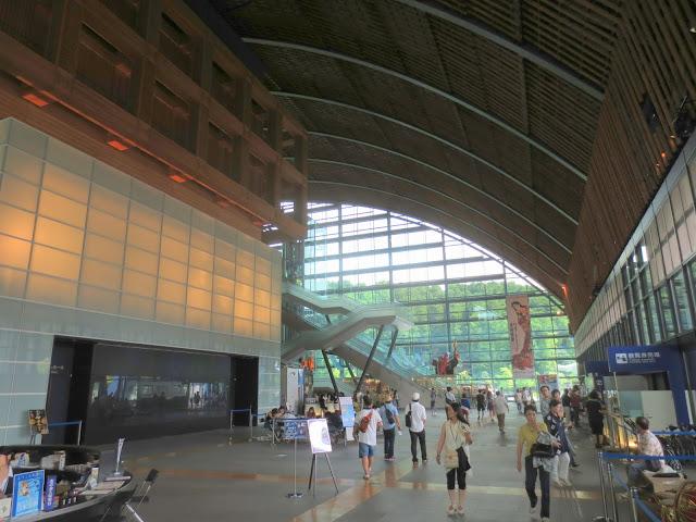 Inside the Kyushu National Museum