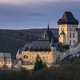 Karlstejn Castle by Martin Vanek - Buildings & Architecture Other Exteriors ( czech republic, forest, castle, historical, karlstejn )