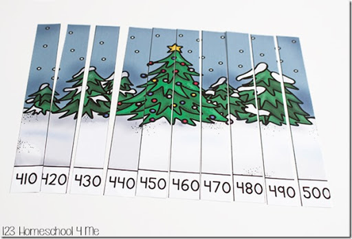 math worksheet : free christmas skip counting puzzles : Christmas Math Puzzle Worksheets
