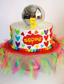 Colourful Tutu Birthday Cake
