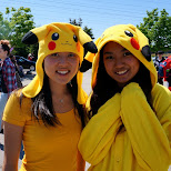 pikachu invasion at anime north 2015 in Toronto, Ontario, Canada