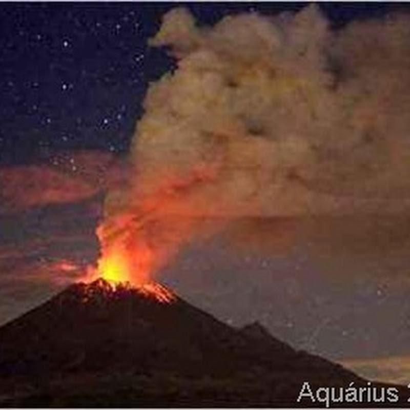 Os Mistérios Ufológicos do Vulcão Popocatepetl
