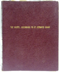 Cover of Aleister Crowley's Book The Equinox Vol III No II The Gospel According to St Bernard Shaw