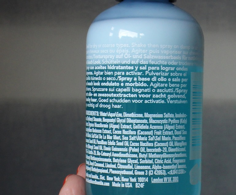 Bumble Bumble-Surf-Infusion-ingredients-list