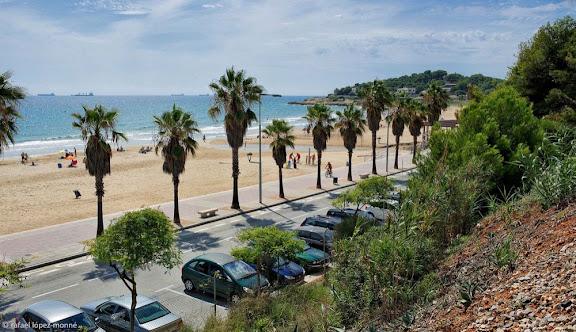 Platja de l'Arrabassada. Tarragona, Tarragonès, Tarragona
