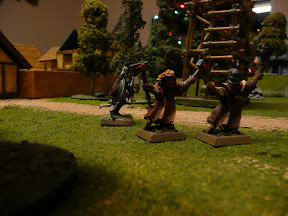 Isolde, Torian, and Nadja run to the next coffin