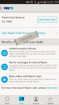 (*Bang*) Paytm Hack Trick-10 ka 50 Unlimited full Recharge Trick 2015