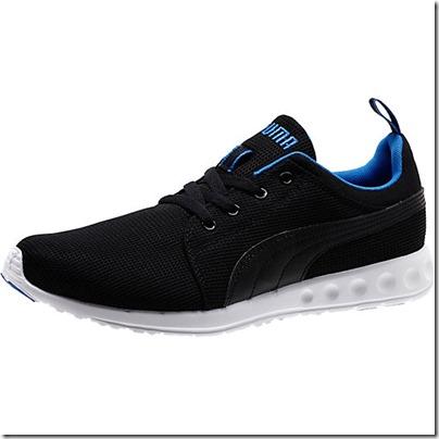 Puma Carson Runner Men Running Shoes - black-strong blue USD 65.00