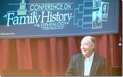 T.C. Christensen addresses the 2015 BYU Conference on Family History and Genealogy.