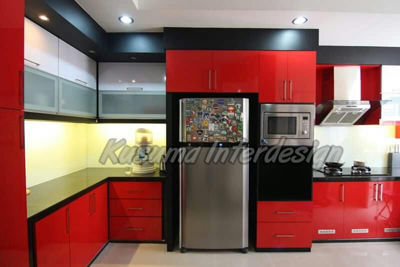 Kusuma Interior Design Kitchen Set Minimalis