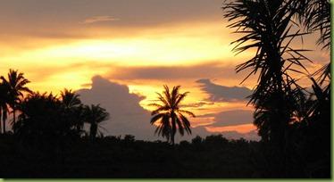 Kananga sunset wide