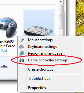 Drop Down Settings