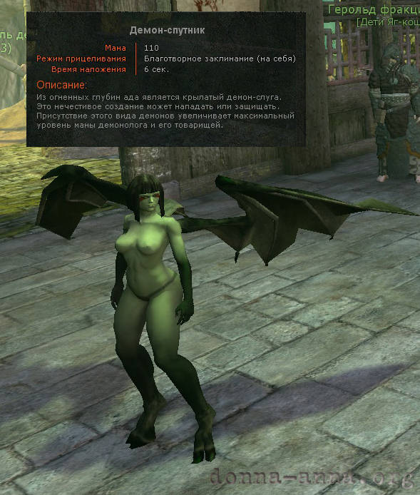 Age of Conan: Демон-спутник