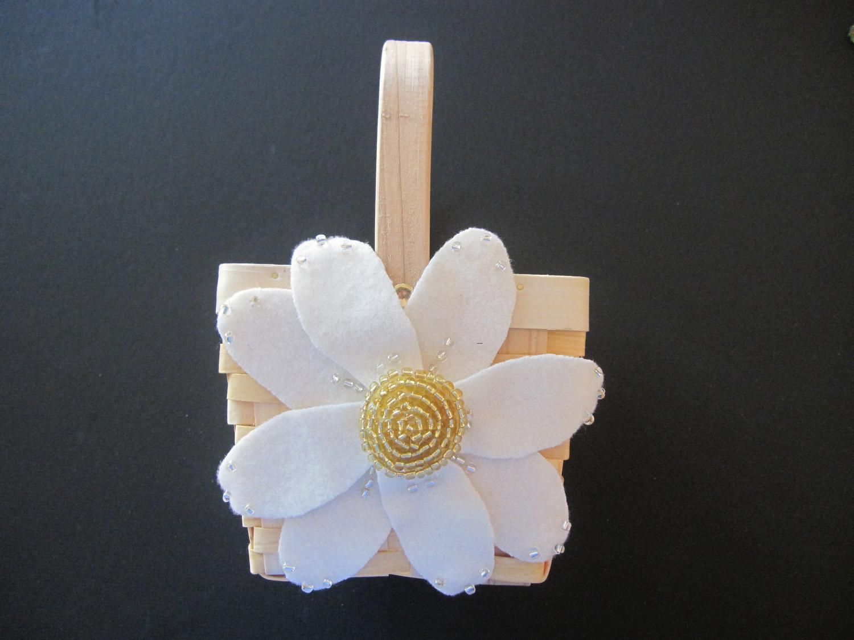 Flower Girl Basket Wedding