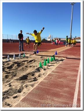 Atletismo Jogado escola da Marinheira