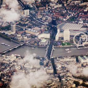 London Eye by Claudia Romeo - City,  Street & Park  Skylines