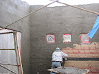 Stucco in courtyard 10/28
