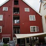 Koffiehuis(je) nabij de Nidelva.