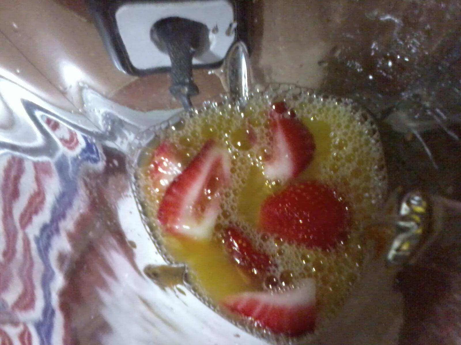 Las recetas de safa zumo de fresa y naranja - Como hacer zumo de fresa ...