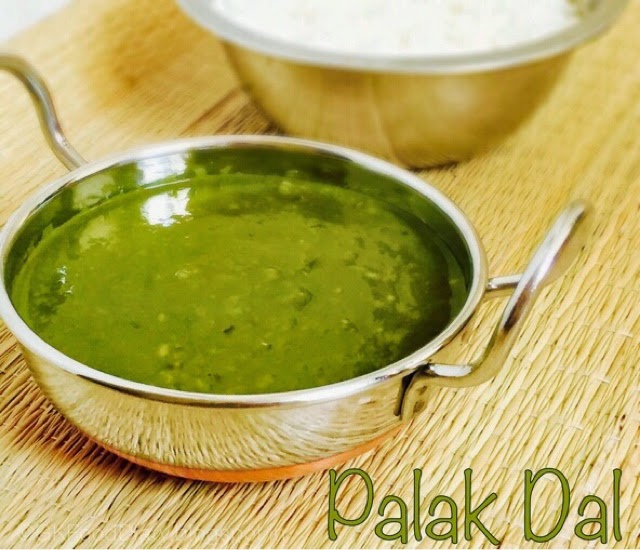 Spinach Dal Recipe