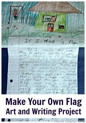 Art and Writing Activity for Kids - Design Your Own Flag