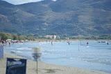 Het strand nabij Laganas.