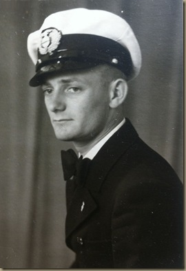 Klein in DZR uniform