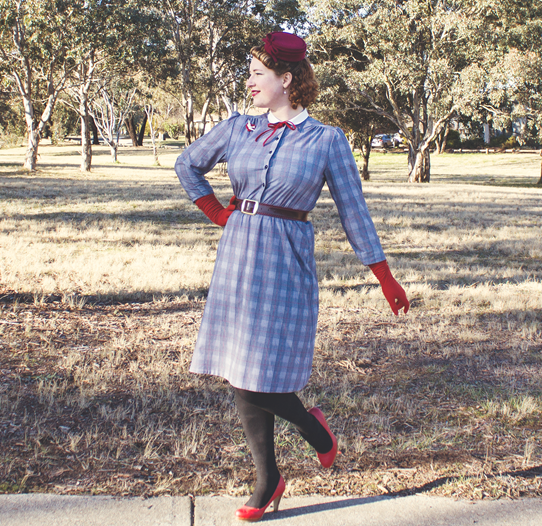 Vintage winter style ~ a 1940's look | Lavender & Twill