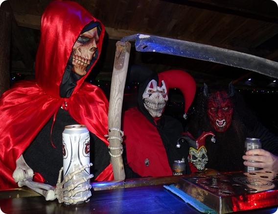 L-r - Grim Reaper - John Marsden - Rob Owen