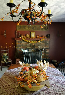 fall bittersweet table